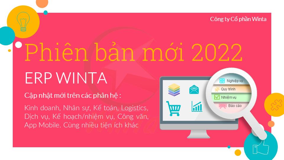 Giải pháp và phần mềm ERP Winta - Phiên bản 2022