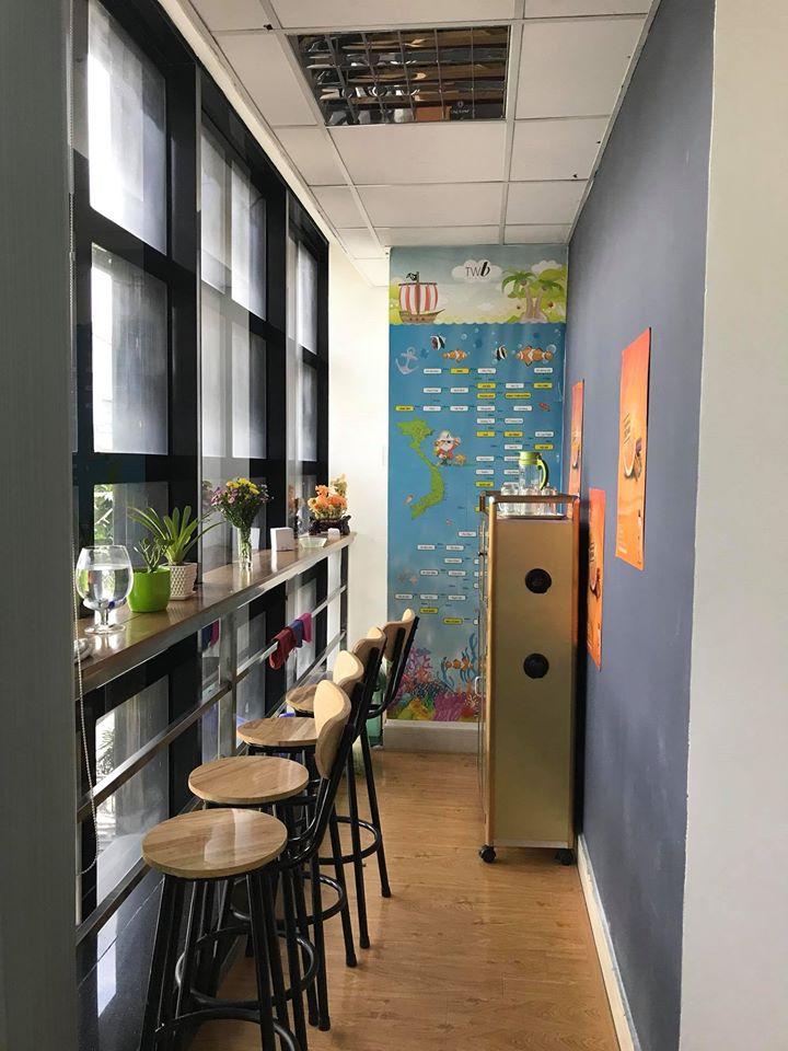 Không gian uống cafe thư giản của nhân viên Winta