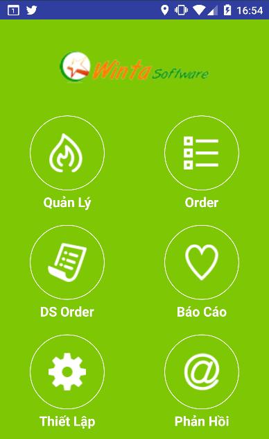 Menu điện tử, đặt món trên thiết bị di động, phần mềm nhà hàng, cafe, karaoke