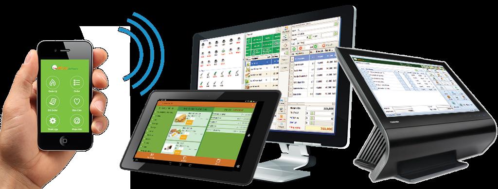 Phần mềm tính tiền nhà hàng, quán cafe, karaoke hoạt động trên mọi thiết bị