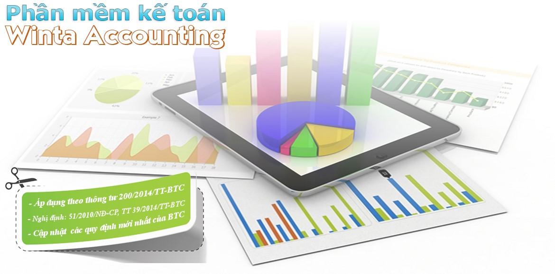 Phần mềm kế toán thương mại, dịch vụ, sản xuất, xây lắp
