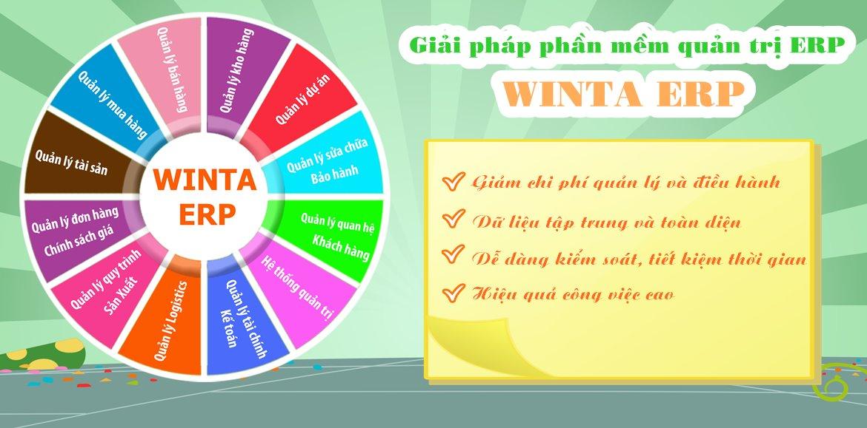 Giải pháp phần mềm Winta ERP, giải pháp quản trị doanh nghiệp ERP