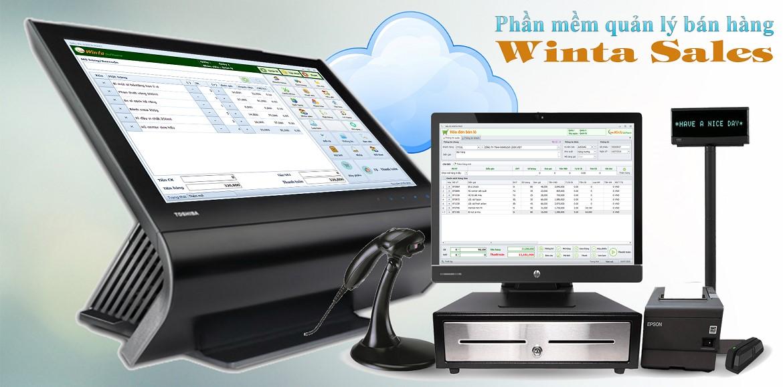 Phần mềm bán hàng Winta Sales, phần mềm tính tiền siêu thị, cửa hàng